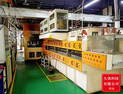 JMG系列陶瓷辊棒可控气氛双工位自动压淬生产线