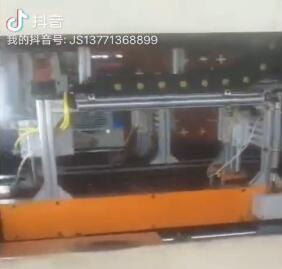 双工位自动压模淬火生产线 视频